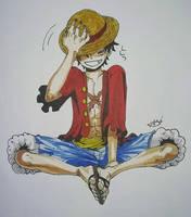 Monkey D. Luffy by MeowImAvery