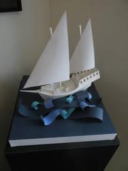 Paper Ship by RacheMc125