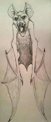 Bat in Flight by JasonCasteel