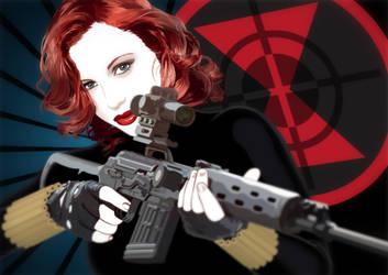 Black Widow by JasonCasteel