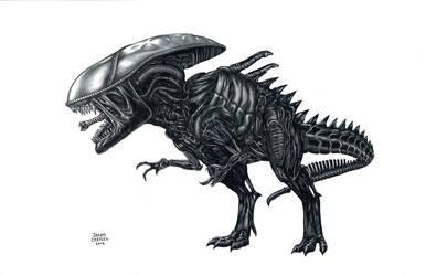 Xenosaurus Rex by JasonCasteel