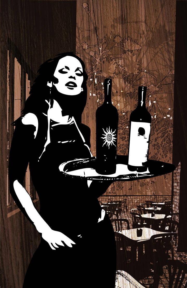 Waitress by JasonCasteel