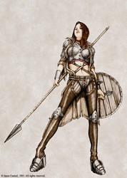 Spear by JasonCasteel