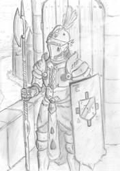 Molzan Tower Guard by Keydan