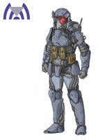 LR-7 Trooper by Keydan