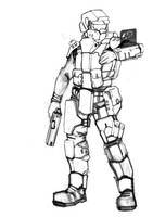 Specialist (uncolored) by Keydan