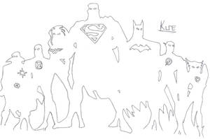 Justice League by lil-kune