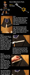 How to make Sora's Pants from KHII- Part 2 by Undead-Romance