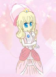 Princess peach by HitsujiKawaii