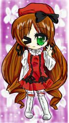 suiseiseki dressed up by HitsujiKawaii