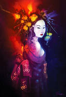 Geisha by jFury