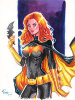 Batgirl Unmasked by jFury