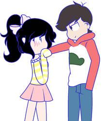 ..:RQ 2/5 Oso flirting with Manilla:.. by Bunny-Nikki1