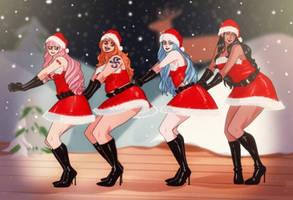 One Piece - Christmas Girls by Stadla