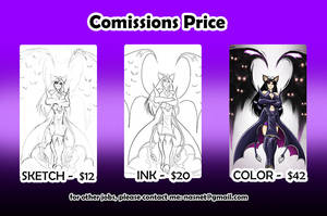 Comissions Price by Nasnet