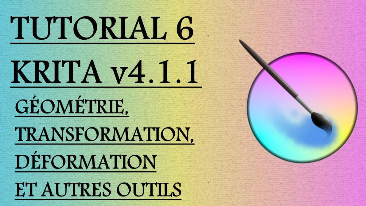 Krita Video Tutorial 6 (subt. in 7 languages) by Gequibren