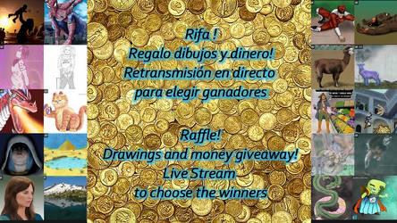 CLOSED - (RAFFLE) FREE ART AND MONEY ! by Gequibren