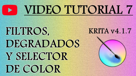 Krita Video Tutorial 7 (subt. in 7 languages) by Gequibren