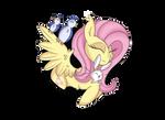Fluttershy by Lycaania