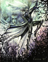 Sephiroth Soaring High by sephiroths-muse