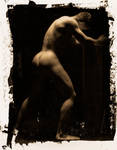 Figure Study In Van Dyke Brown 1 by CPJPhoto