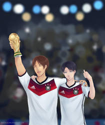 Congratulation Germany! by pandagulung
