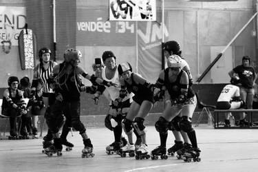Roller Derby ! - L'attente by SoZuKiTa