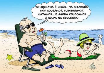 Ditador-Praia by GutoCamargo