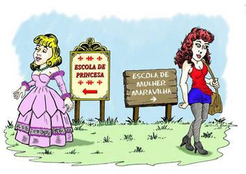 Escola de Princesa by GutoCamargo