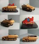 Sd.Kfz. 251-1 Ausf. B by WormWoodTheStar