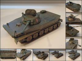 PT-76 Floating Tank by WormWoodTheStar
