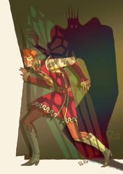 Hamlet - the ghost by RaRo81