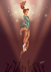 Fly high, Tonya! by RaRo81