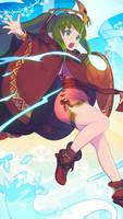 FE Heroes October Wallpaper - Legendary Tiki by Kaz-Kirigiri