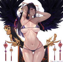Dead or Alive_Nyotengu by Gtunver