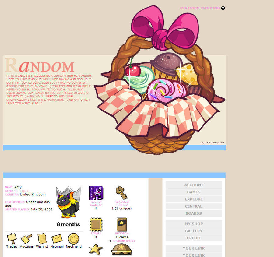 Cupcake Userlookup Neopets By Umbrehla On Deviantart