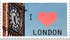 I Love London Stamp by umbrehla