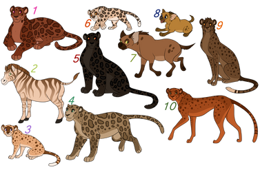 Mixed animal adopts /CLOSED/ by Karksy