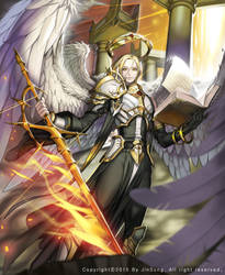 Archangel Raphael by JinsSung