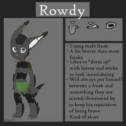 Contest: MYO Freak - Rowdy by El-Rado