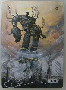 Darksteel Colossus by ClaarBar