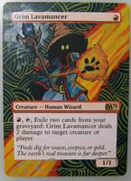 Grim Lavamancer by ClaarBar