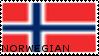 Norwegian Stamp by Temporus-Polaris