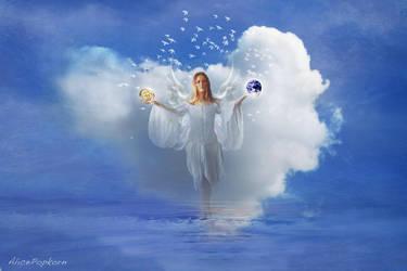 Peace On Earth by alicepopkorn