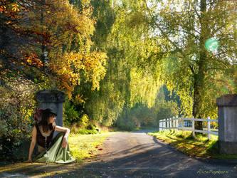 golden autumn by alicepopkorn