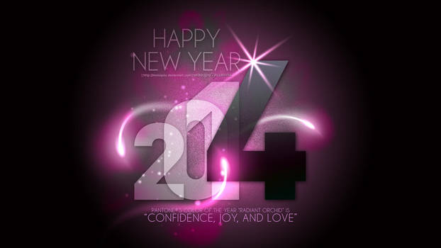 Happy New Year 2014 by Moniquiu