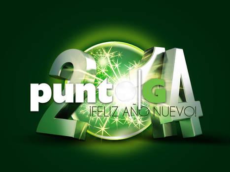 PUNTO G - HAPPY NEW YEAR CARD by Moniquiu