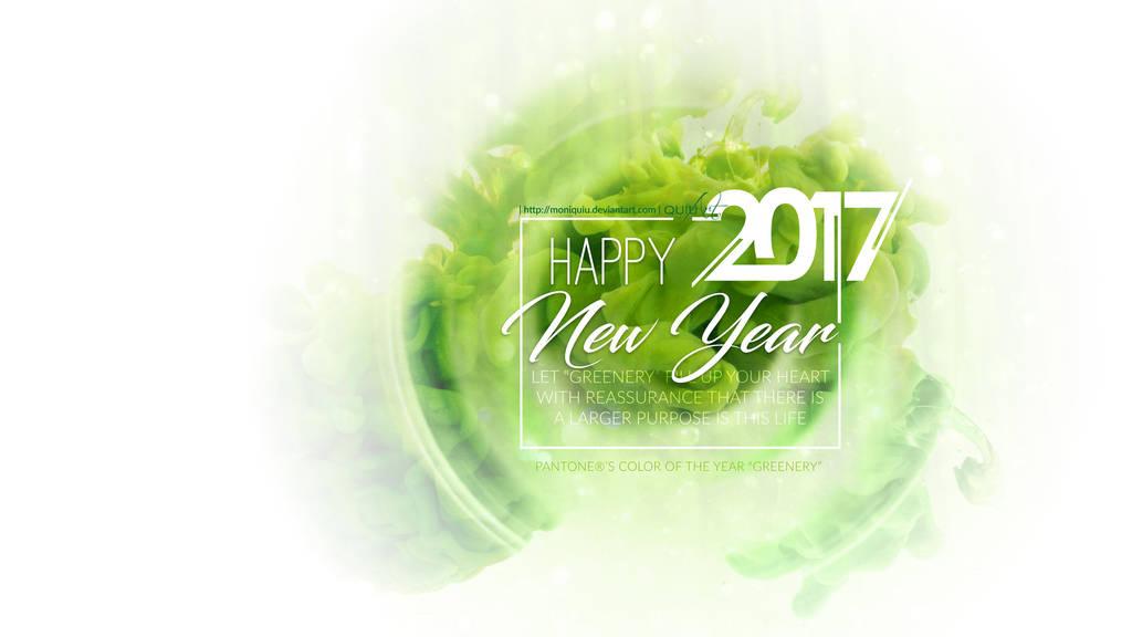 Happy New Year 2017 by Moniquiu