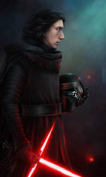 Kylo Ren - The Force Awakens by Ariata