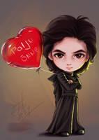 Chibi_Kylo Ren by Ariata